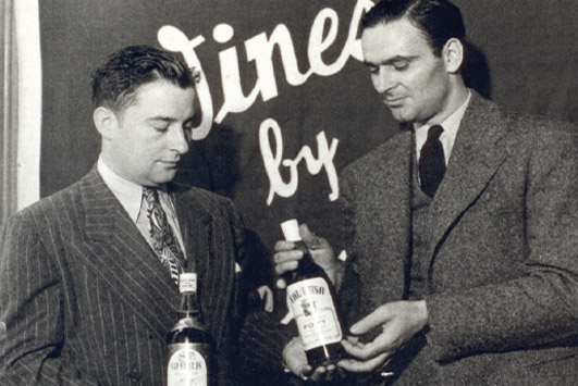 Larry Solari and Sidney Braunstein of Medallion Wine Corp.