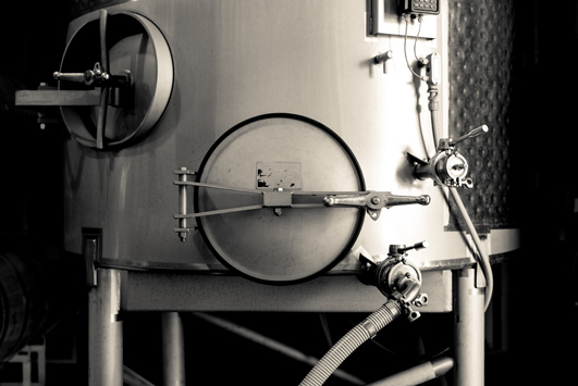Small lot fermenters allow us to the unique terroir of each vineyard parcel.